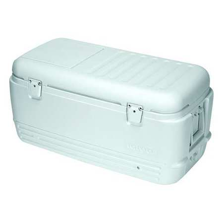 Full Size Chest Cooler, 100 qt., White