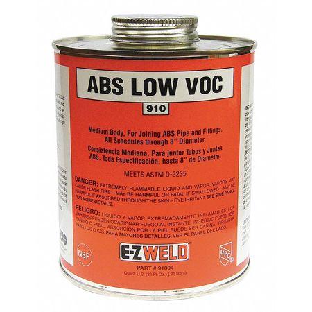 ABS Cement, 32 Oz, Black