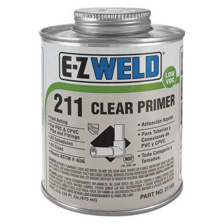 Clear Primer, 16 Oz, Clear