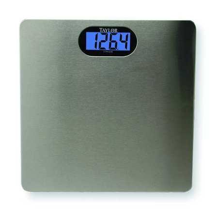 LCD Bath Scale,  180kg/400 lb. Cap.,  0.09kg/0.2 lb. Graduations