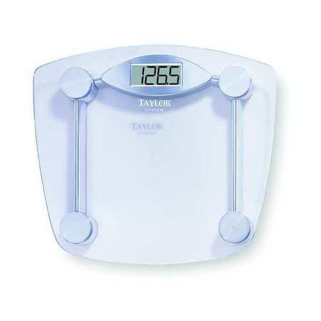 LCD Bath Scale,  180kg/400 lb. Cap.,  0.227kg/0.5 lb. Graduations