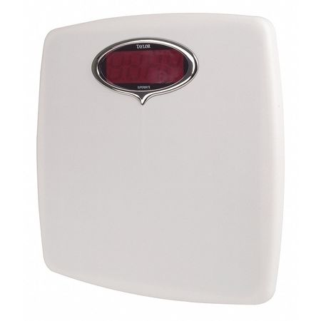 LED Bath Scale,  150kg/330 lb. Cap.,  0.227kg/0.5 lb. Graduations