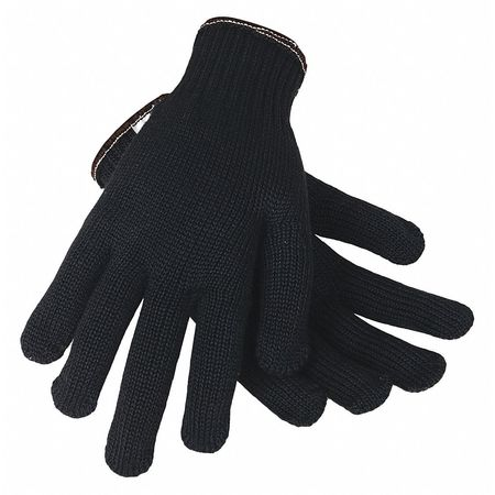 Cut Resistant Gloves, Black, XL, PR