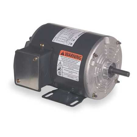 Mtr, 3 Ph, 1/4hp, 1725, 208-230/460, Eff 66.0