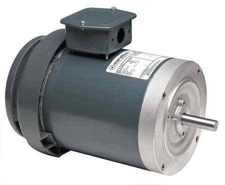 Pmp Dty Mtr, 3Ph, TEFC, 1-1/2HP, 3450rpm, 56C
