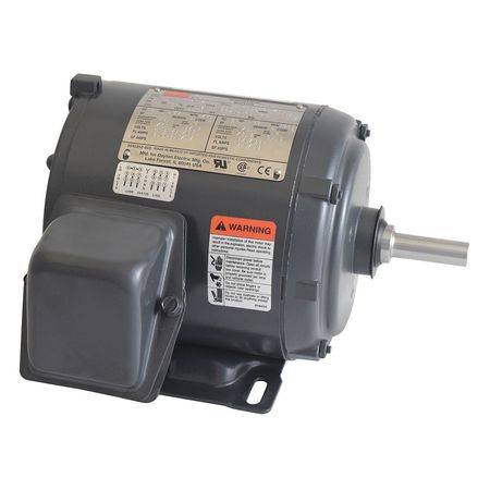 Mtr, 3 Ph, 1/3hp, 1725, 208-230/460, Eff 74.0