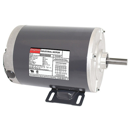 Mtr, 3 Ph, 3/4hp, 1725, 208-230/460, Eff 80.0