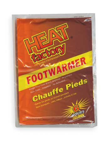 Foot Warmer,  2-3/4 x 3-1-/2 In, PR, PK3