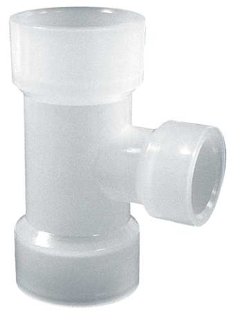 "2"" x 1-1/2"" Slip Reducing Tee Sch 80"