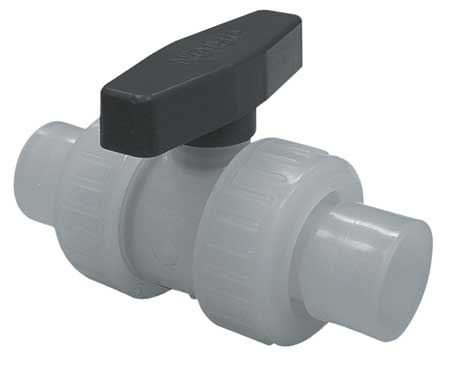 "1-1/2"" Socket Polypropylene Ball Valve Inline Union"