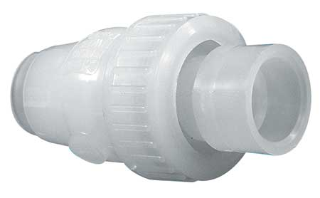 "1-1/2"" Socket Fusion Polypropylene Ball Check Valve"