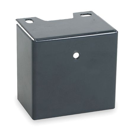 Capacitor Cover, Steel, 1 11/16 High