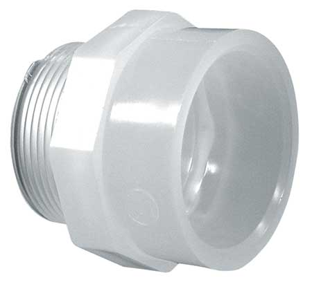 "1/2"" Slip Male Adapter Sch 80"