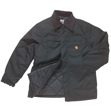 Coat, Insulated, Black, LT