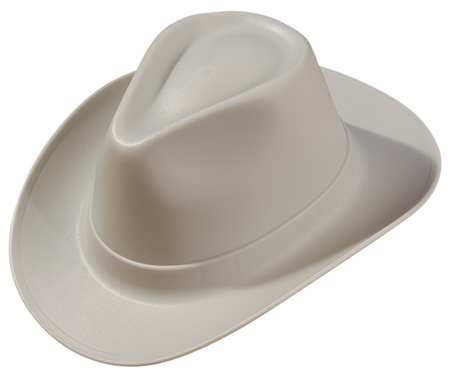 Hard Hat, Cowboy, 6Rtcht, Gray
