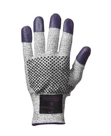 Cut Resistant Gloves, Purple, S, PR