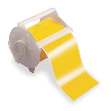 Tape, Yellow, 100 ft. L, 1-1/8 In. W