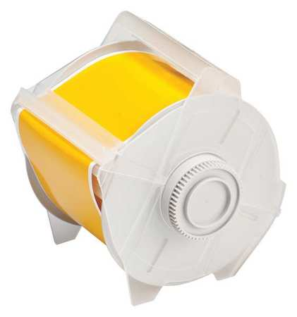 Tape, Yellow, 100 ft. L, 3 In. W