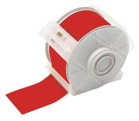 Tape, Red, 100 ft. L, 2-1/4 In. W