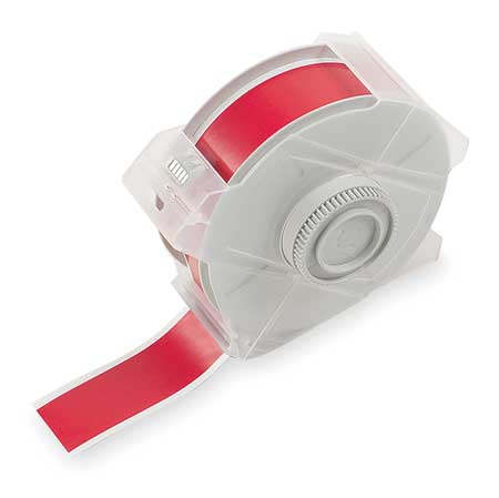 Tape, Red, 100 ft. L, 1-1/8 In. W