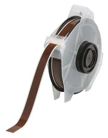 Tape, Brown, 100 ft. L, 1/2 In. W