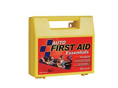 First Aid Kit, Bulk, Yellow, 137 Pcs