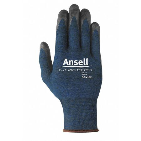 Ansell Cut-Protection- Nitrile-Palm Coated Cut,  Abrasion-Resistant Gloves