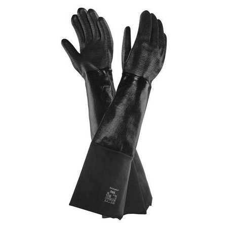 """Chemical Resistant Glove, 26"""" L, Sz 10, PR"""