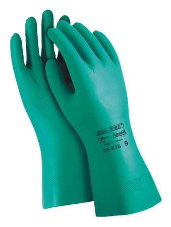 Chemical Resistant Glove, 15 mil, Sz 10, PR