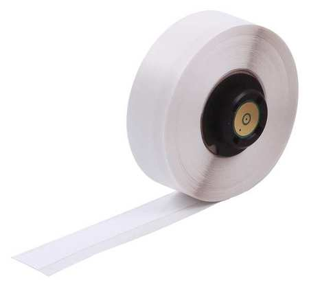 "1/2"" x 50 ft. White Adhesive Label Tape Cartridge,  Polyester  B483"
