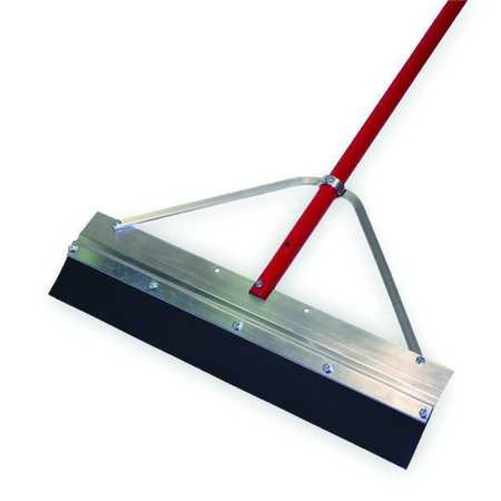 "TOUGH GUY Black 24"" Aluminum Floor Squeegee"