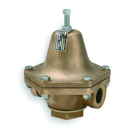 Pressure Regulator, 1/2 In, 2 to 30 psi