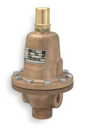 Pressure Relief Valve, 1/2In, 65psi, Bronze
