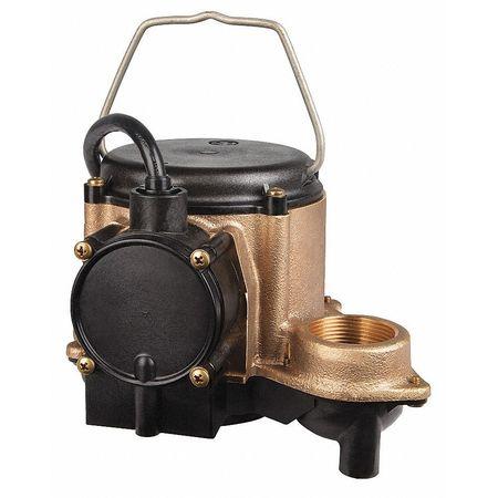 """4/10 HP 1-1/2"""" Submersible Sump Pump 115V"""