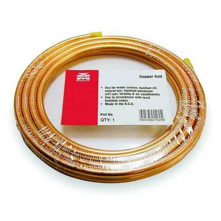 "3/8"" OD x 50 ft. Coil Copper Tubing Type ACR"