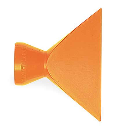 Nozzle, Flare, 2.5in, Pk2