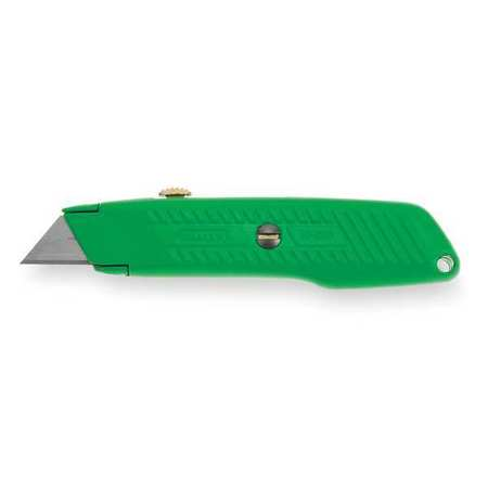 Utility Knife, 5-7/8 In., Hi Vis Green