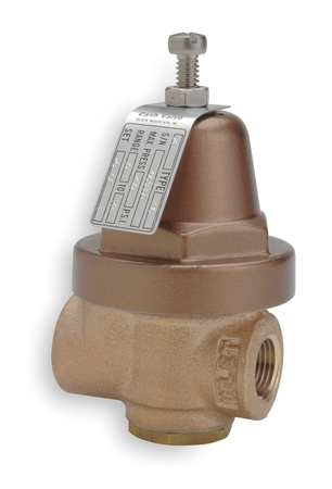 Pressure Regulator, 3/8 In, 10 to 50 psi
