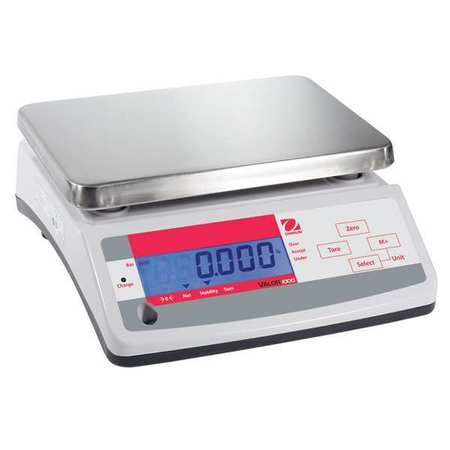 Digital Compact Bench Scale 66 lb./30kg Capacity