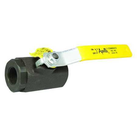 "1-1/2"" FNPT Carbon Steel Ball Valve Inline"