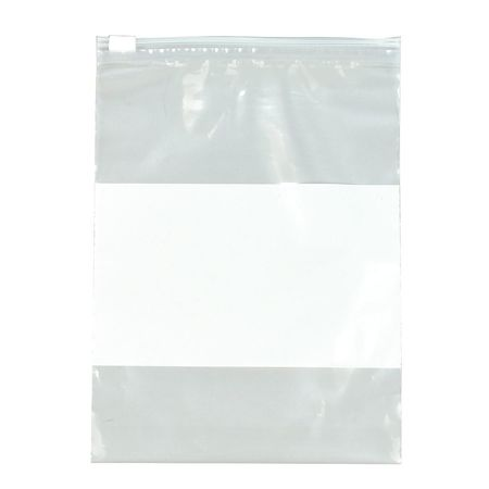 "Reclosable Poly Bag Slide Seal 9"" x 6"",  3 mil,  Clear,  Pk250"