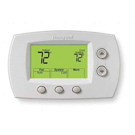 Wireless Thermostat,  Stages 3 Heat Pump or 2 Conv. Heat/2 Cool