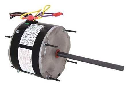 Condenser Fan Motor, 1/6to1/3 HP, 825 rpm