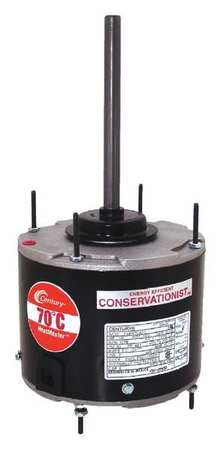 Condenser Fan Motor, 1/6to1/3HP, 1075 rpm