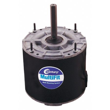 Condenser Fan Motor, 1/6to1/4HP, 1075 rpm