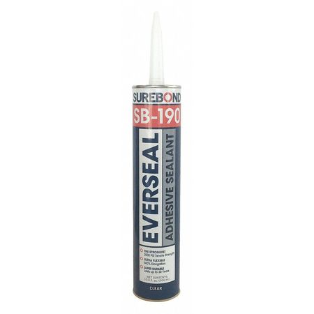 Pick-Proof Adhesive Sealant, 10.3oz, Clear