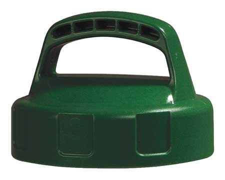 Storage Lid, HDPE, Mid Green
