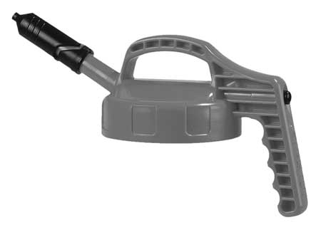 Mini Spout Lid, w/0.27 In Outlet, Gray