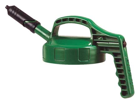 Mini Spout Lid, w/0.27 In Out, Mid Green
