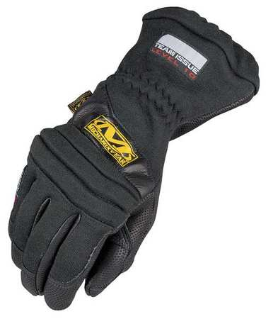 Fire Retardant Gloves, L, Black, PR
